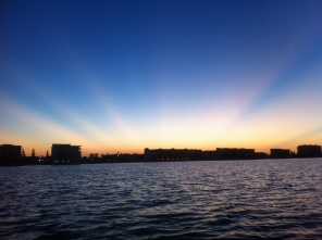Sunrise over Shoreline